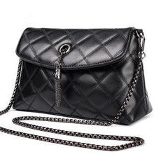 Load image into Gallery viewer, Maidini Diamond Lattice Sheepskin Women Bag