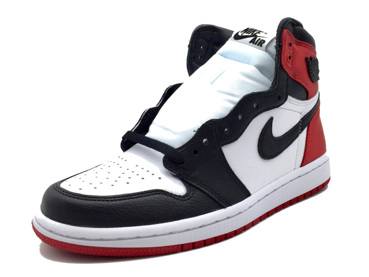 "Nike Air Jordan 1 Retro High ""Satin Black Toe"" (W)"