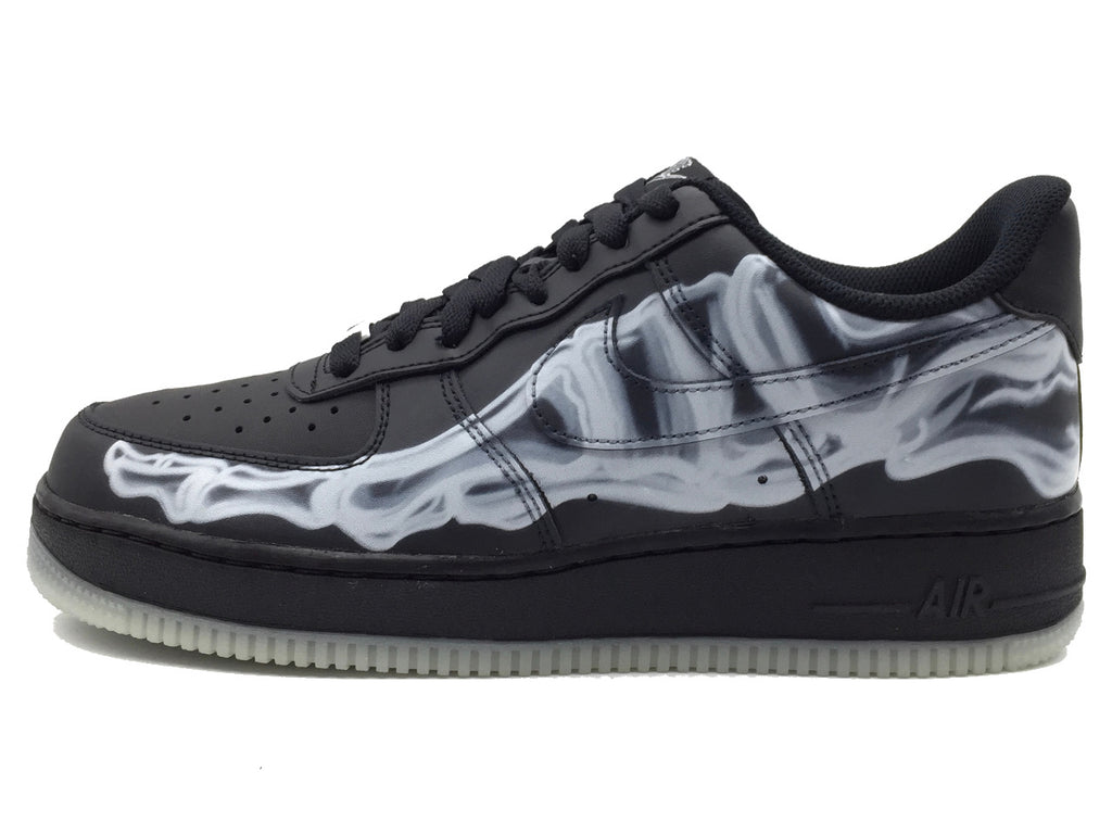 "Nike Air Force 1 Low ""Black Skeleton"""