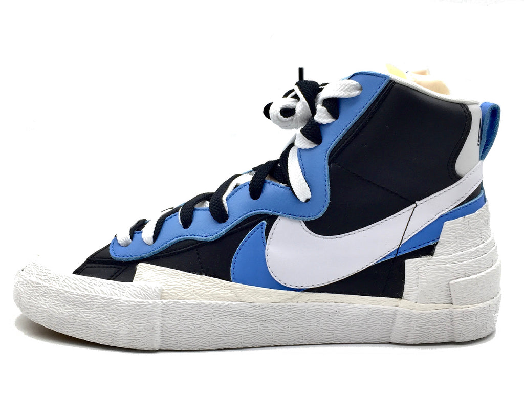 "Nike x Sacai Blazer Mid ""Black University Blue"""