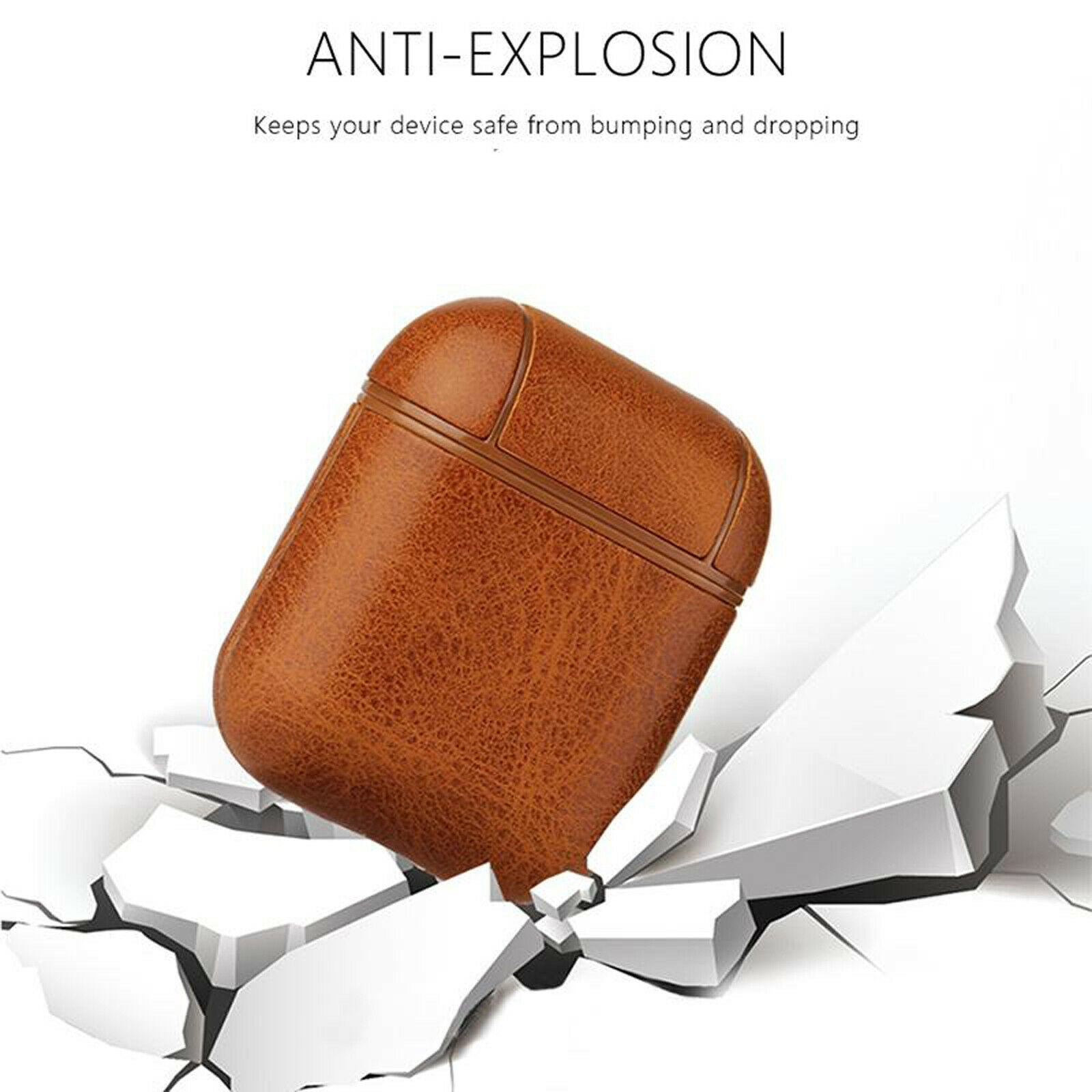 Airpods Leather Soft Case