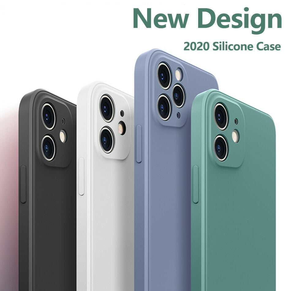 Luxury Liquid Silicone iPhone Case