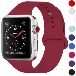 Apple Watch Soft Silicone Strap