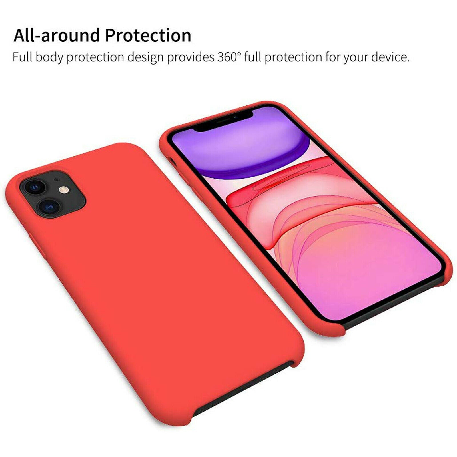 iPhone (6 up to XS Max) Silicone Case