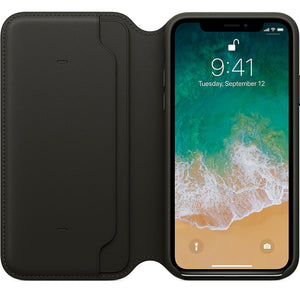 iPhone Flip Leather Wallet