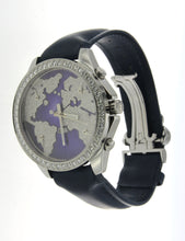 Load image into Gallery viewer, Blue Five Time Zone Jacob & Co Watch