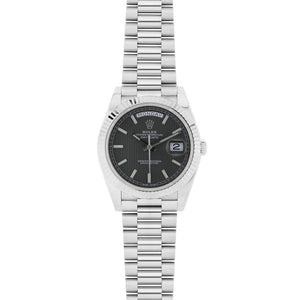 Rolex Day Date 40MM 18K White Gold 228239