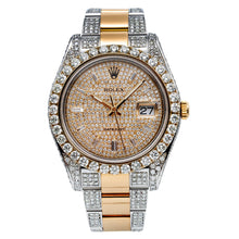Load image into Gallery viewer, Two Tone Rolex Datejust II 116333 41mm Champagne Dial With 12.5CT Diamonds