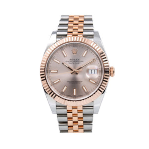 Two Tone Rolex DateJust 126331 41mm Sundust Dial