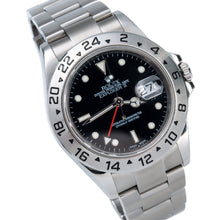 Load image into Gallery viewer, Stainless Steel Rolex Explorer II 16570 40mm Black Dial