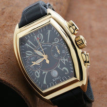 Load image into Gallery viewer, Franck Muller Conquistador 8001CC 40mm Black Dial