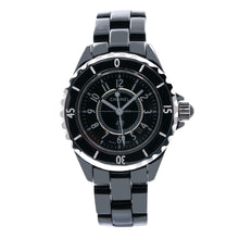 Load image into Gallery viewer, CHANEL J12 H0682 33mm Black Dial