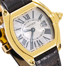Load image into Gallery viewer, Cartier Roadster W62018Y5 31mm Silver With Roman Numerals Dial