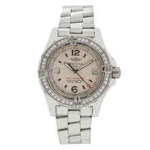 Load image into Gallery viewer, Breitling Colt Oceane A77380 33mm White Dial with Diamond Bezel