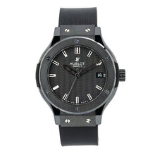 Load image into Gallery viewer, Hublot Classic Fusion Quartz 561.CM.1770.RX 38MM Black Dial With Rubber Bracelet