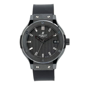 Hublot Classic Fusion Quartz 561.CM.1770.RX 38MM Black Dial With Rubber Bracelet