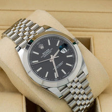 Load image into Gallery viewer, Rolex Datejust II 126303 41MM Black Dial With Stainless Steel Jubilee Bracelet