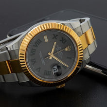 Load image into Gallery viewer, Rolex Datejust II 116333 41MM Silver Dial With 18K Two Tone Bracelet