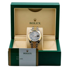 Load image into Gallery viewer, Rolex Datejust II 126303 41MM Gray Dial With Two Tone Bracelet