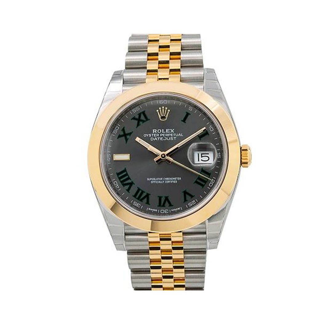 Rolex Datejust II 126303 41MM Gray Dial With Two Tone Bracelet