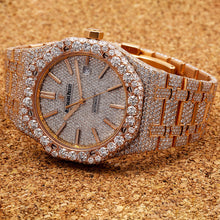 Load image into Gallery viewer, Audemars Piguet Royal Oak 15400OR 41MM White Diamond Dial With 27.75 CT Diamonds
