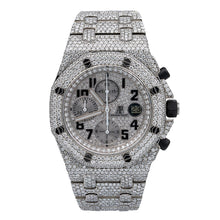 Load image into Gallery viewer, Audemars Piguet Royal Oak Offshore Chronograph 25721ST 42MM Silver Diamond Dial With 26.25 CT Diamonds