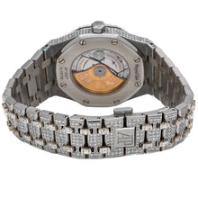 Load image into Gallery viewer, Audemars Piguet Royal Oak Self Winding 15400ST 41MM White Diamond Dial With 29.75 CT Diamonds