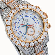 Load image into Gallery viewer, Rolex Yacht-Master II 116681 44MM White Dial With 17.50 CT Diamonds