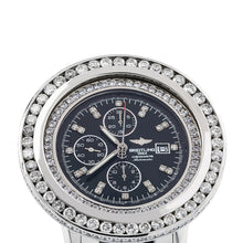 Load image into Gallery viewer, Breitling Navitimer World A24322 46MM Black Diamond Dial With 10.80 CT Diamonds