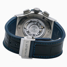Load image into Gallery viewer, Hublot Classic Fusion Chronograph 541.NX.7170.LR 42MM Blue Dial With Leather Bracelet