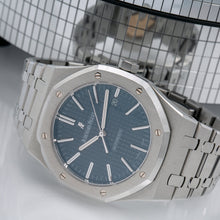 Load image into Gallery viewer, Audemars Piguet Royal Oak Selfwinding 15400ST Blue Dial With Stainless Steel Bracelet
