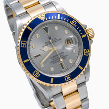 Load image into Gallery viewer, Rolex Submariner Date 16613 40MM Silver Dial With Two Tone Bracelet