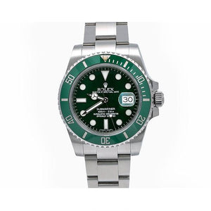 Rolex Submariner Date 116610LV 40MM Green Dial With Stainless Steel Bracelet