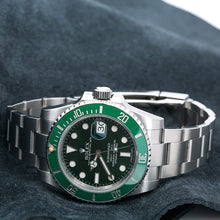 Load image into Gallery viewer, Rolex Submariner Date 116610LV 40MM Green Dial With Stainless Steel Bracelet