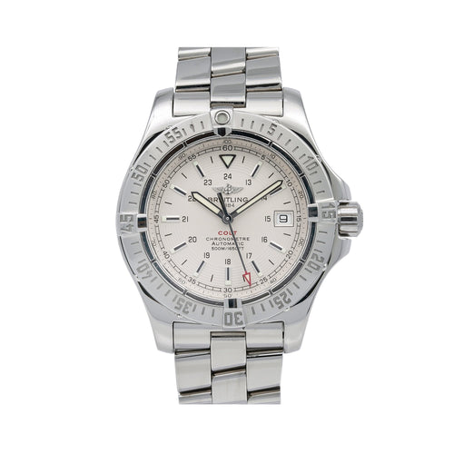 Breitling Colt A17380 41MM White Dial With Stainless Steel Bracelet