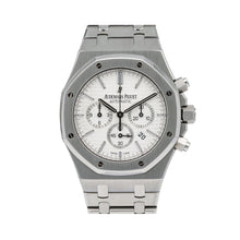 Load image into Gallery viewer, Audemars Piguet Royal Oak Chronograph 26320ST 41MM White Dial With Stainless Steel Bracelet