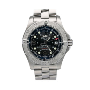 Breitling Superocean Steelfish A17390 44MM Blue Dial With Stainless Steel Bracelet