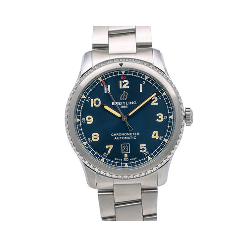 Breitling Navitimer A17315 41MM Blue Dial With Stainless Steel Oyster Bracelet