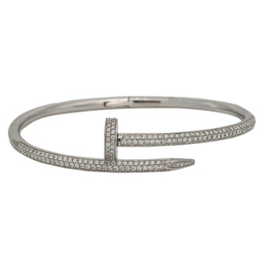 14K WHITE GOLD WOMEN'S BRACELET WITH 2.45 CT DIAMONDS