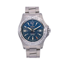 Load image into Gallery viewer, Breitling Colt Automatic A17313 41MM Blue Dial With Stainless Steel Bracelet