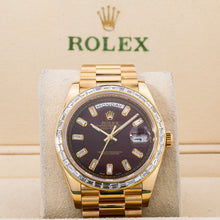 Load image into Gallery viewer, Rolex Day-Date 228238 40MM Red Diamond Dial With 4.75 CT Diamonds