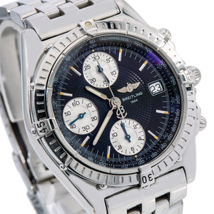 Breitling Chronomat A13050 40.5MM Black Dial With Stainless Steel Bracelet