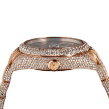 Load image into Gallery viewer, 18K Rose Gold Rolex Sky-Dweller 326935 42mm Brown Dial 28.75CT Diamonds