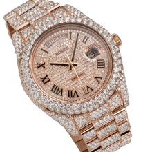 Load image into Gallery viewer, Rolex Day Date II President 218235 41mm 21.75CT Diamond Watch