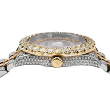 Load image into Gallery viewer, Rolex Datejust 116263 36mm Light Pink Mother Of Pearl Roman Numeral Dial With 13.75CT Diamonds Watch