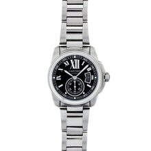 Load image into Gallery viewer, Cartier Calibre 42MM Stainless Steel W7100016