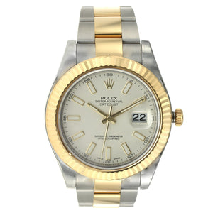 Rolex Oyster Perpetual Datejust II 41MM Steel and Gold 41MM 116333