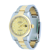 Load image into Gallery viewer, Rolex Datejust Two Tone 36MM 116203