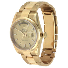Load image into Gallery viewer, Rolex Oyster Perpetual Day Date Yellow Gold 36MM 118208