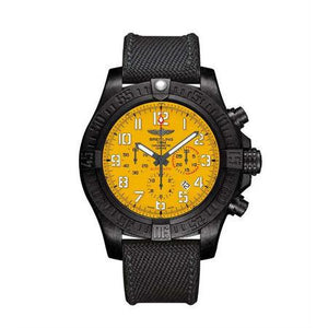 Breitling Avenger Hurricane 50mm XB0170E4/I533 with Polymer Bezel and Rubber Band